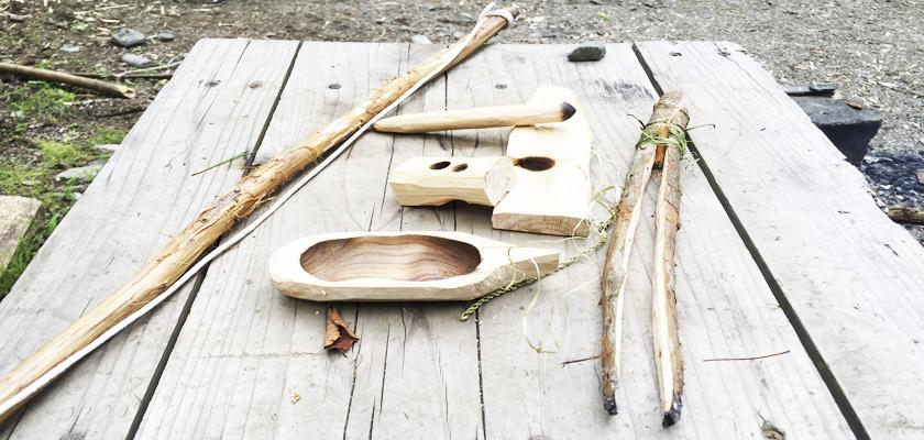 炎と水の物語 - ナイフ一本で「水」と「火」を手に入れる Story を体験する