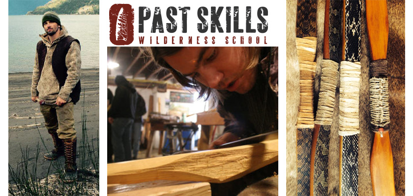 Primitive Bow Making Workshop ~ Past Skills Wilderness School In Japan
