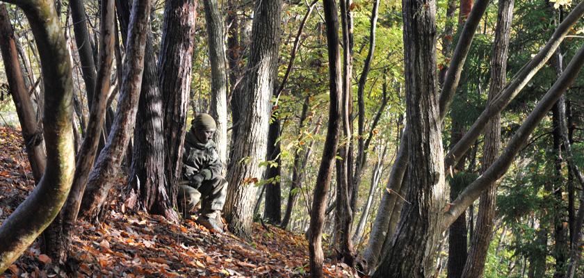 SHINOBI 森に潜む、気配を消す、一体化しする - 古来スカウトの技に触れる二日間